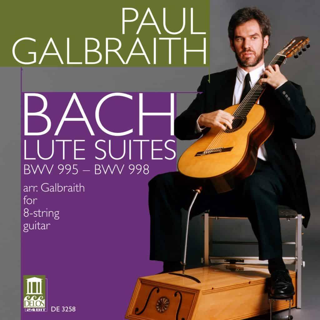 Galbraith: Bach Lute Suites