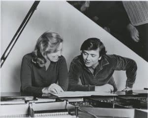 Carol Rosenberger and Gerard Schwarz