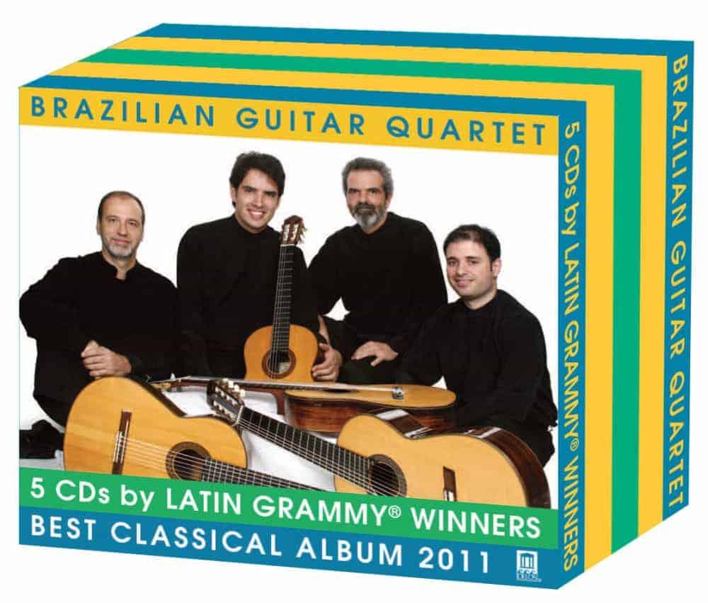 Brazilian Guitar Quartet Box Set