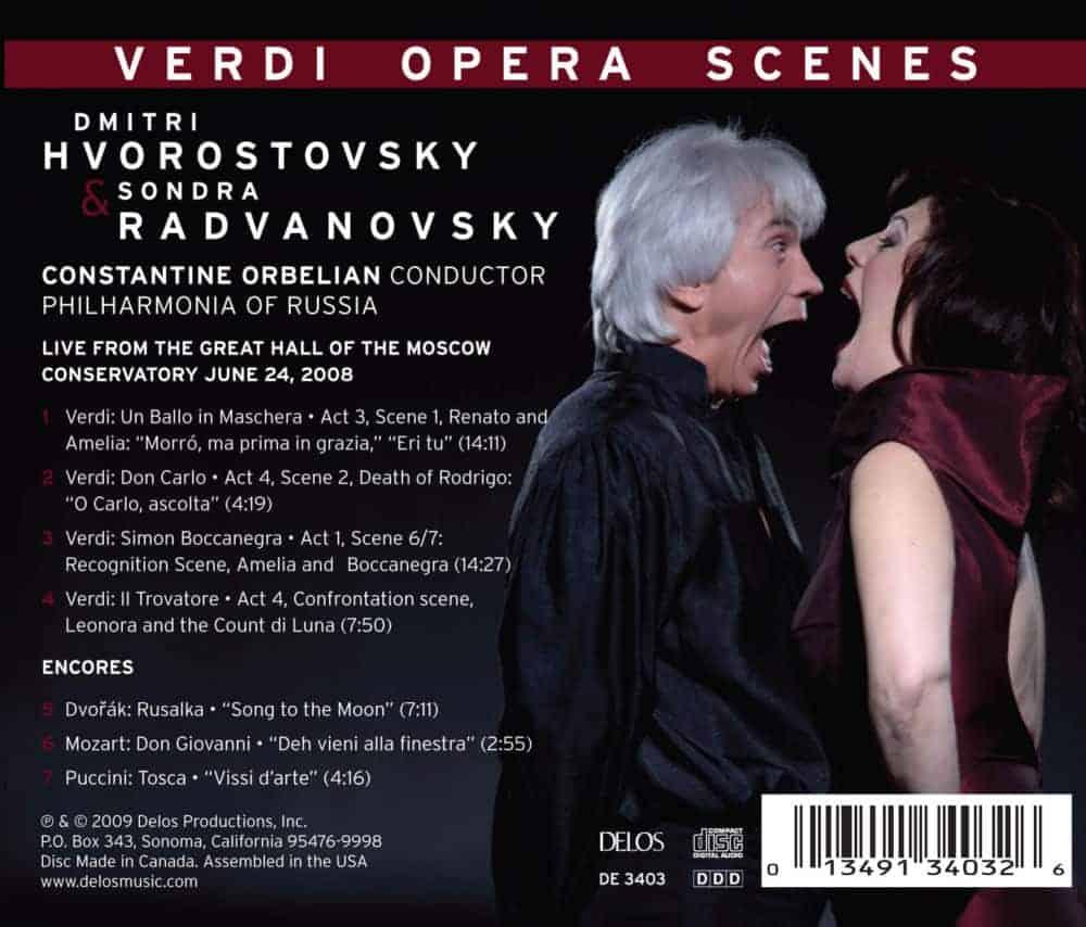 Verdi Opera Scenes Tray