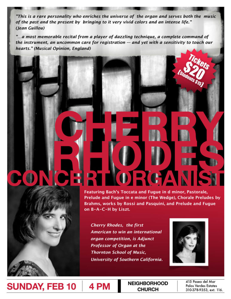 Cherry Rhodes Poster