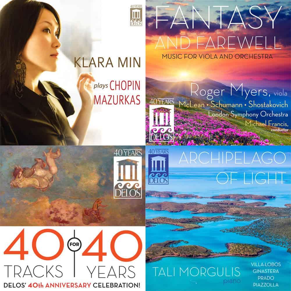 Four Delos Albums Charting in iTunes | delosmusic.com