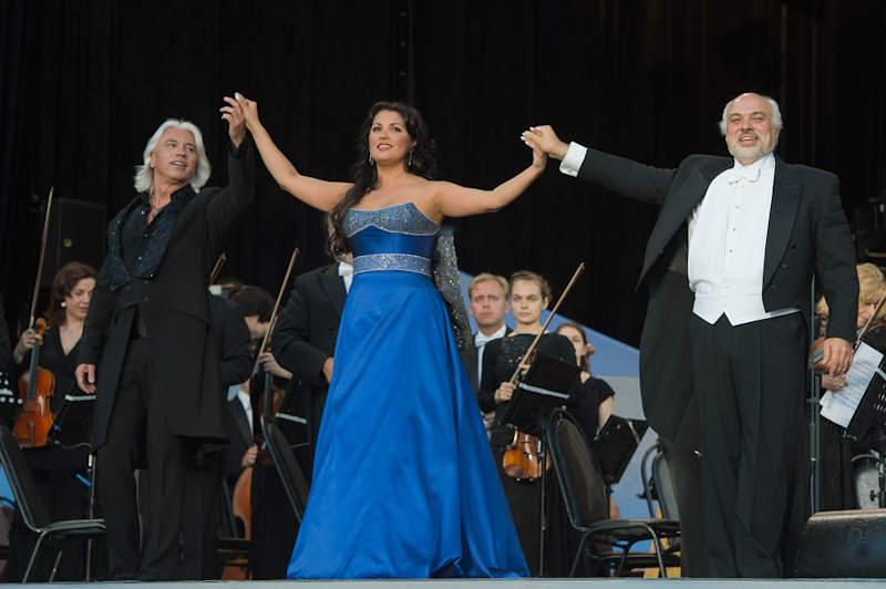 Dmitri Hvorostovsky - Anna Netrebko - Constantine Orbelian