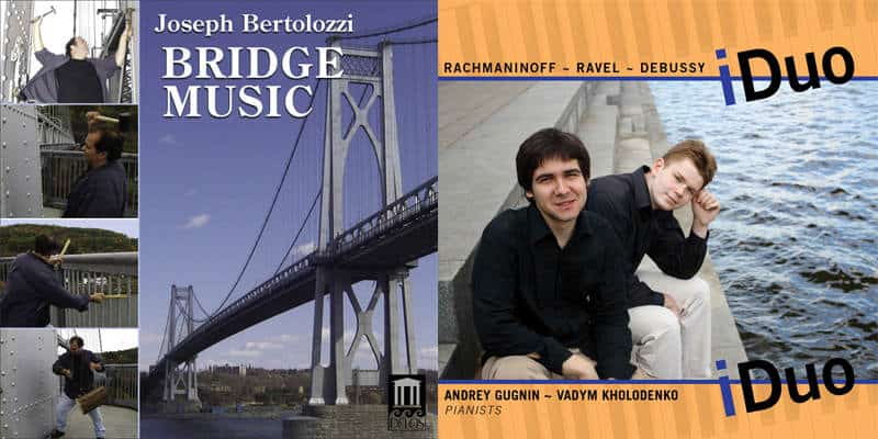 iDuo - Vadym Kholodenko & Bridge Music - Joseph Bertolozzi - on sale!