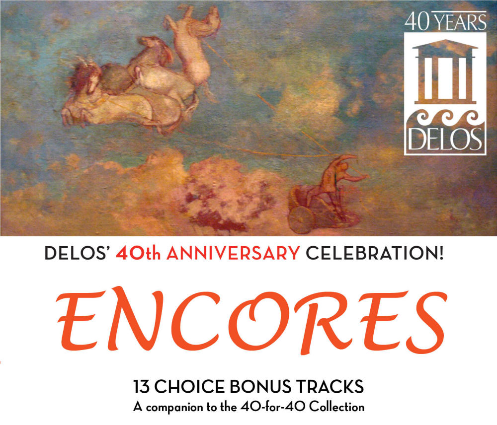 Delos 40th Anniversary Celebration ENCORES