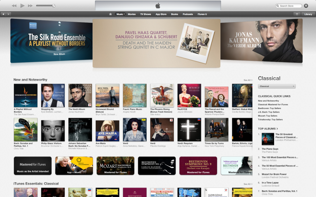 stopping by in itunes new and noteworthy