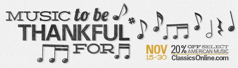 Music to be Thankful For