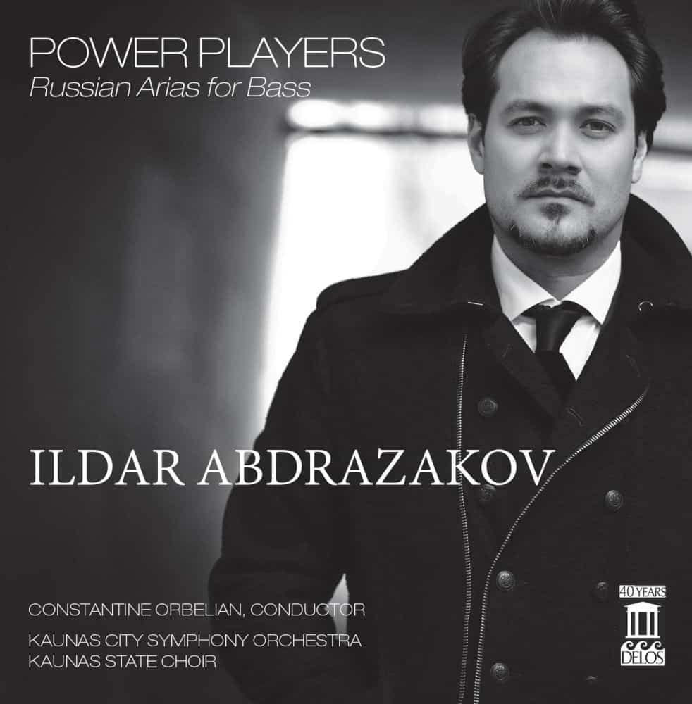 Digital Release: Ildar Abdrazakov — Power Players: Russian arias for Bass