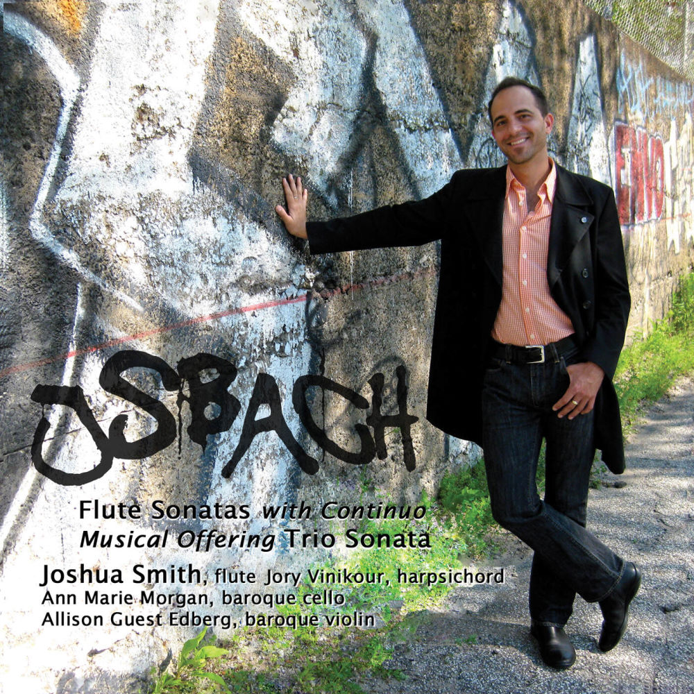 JS Bach Fulte Sonatas With Continuo — Joshua Smith, Jory Vinikour, Musical Offering Trio