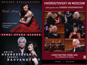 Sondra Radvanovsky — Delos Recordings and DVD