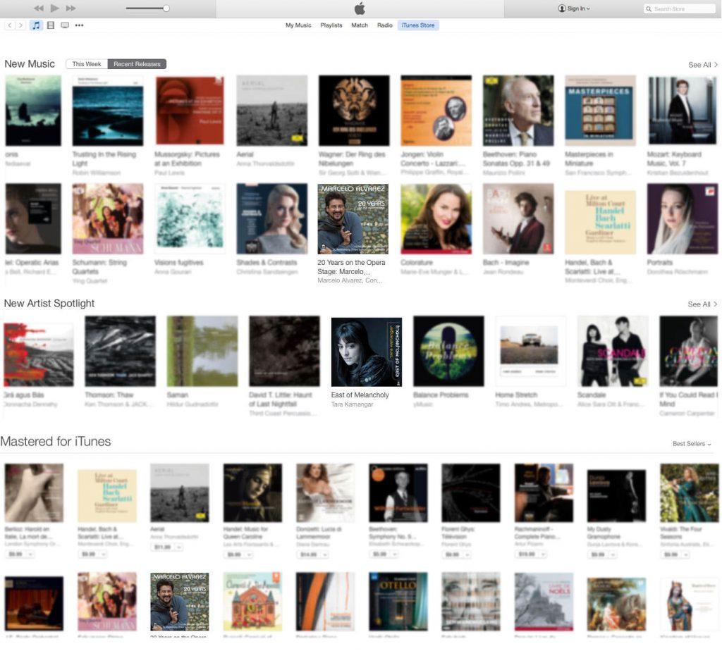 Tara Kamangar & Marcelo Alvarez iTunes features