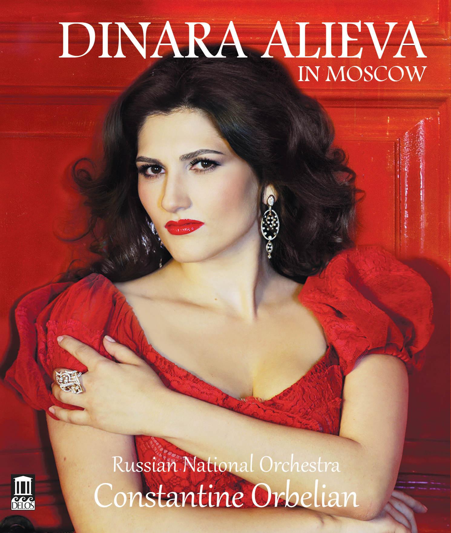 Dinara Alieva in Moscow Blu-Ray