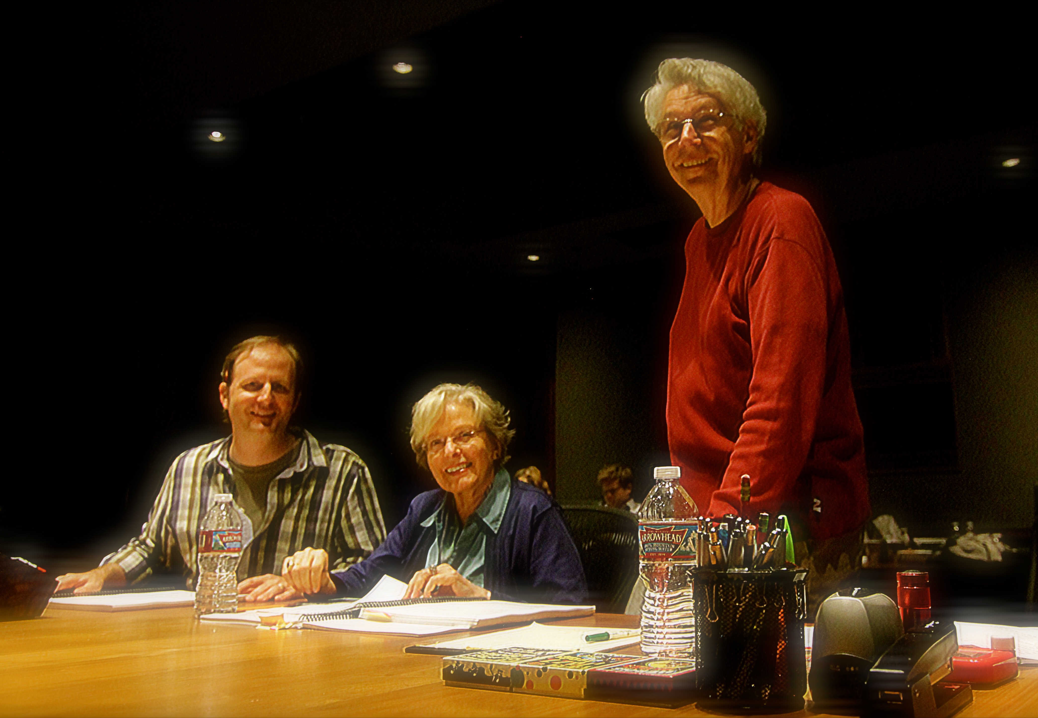 Mark Abel, Carol Rosenberger and Chris Anderson-Bazzoli