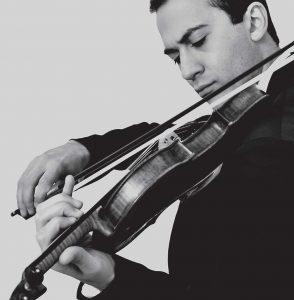 Violinist Haik Kazazyan