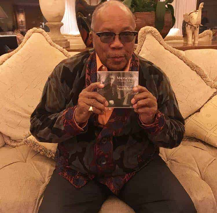 Quincy Jones with Mademoiselle