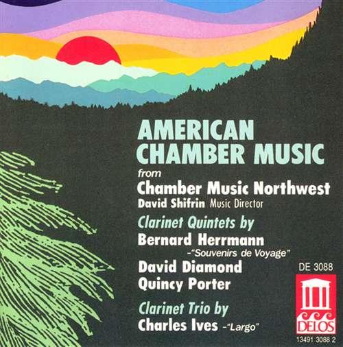 American chamber music recording delos music for American chambre