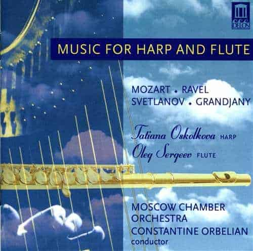 Music for Harp and Flute Cover artwork