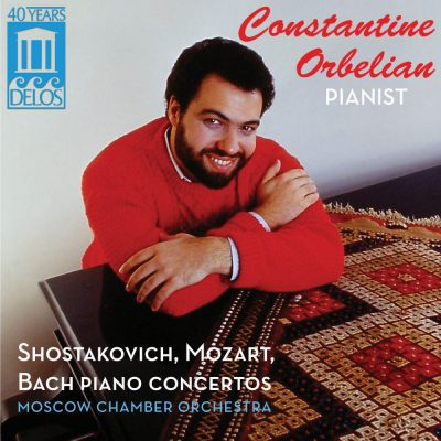 Constantine Orbelian: Shostakovich, Mozart, Bach Piano Concertos