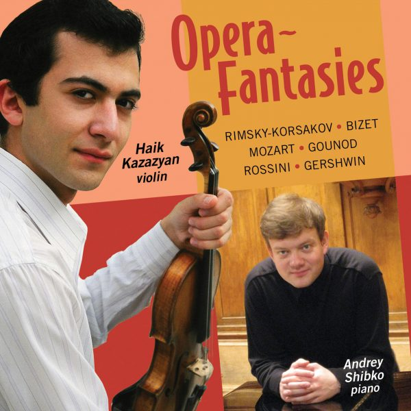 Opera Fantasies for Violin