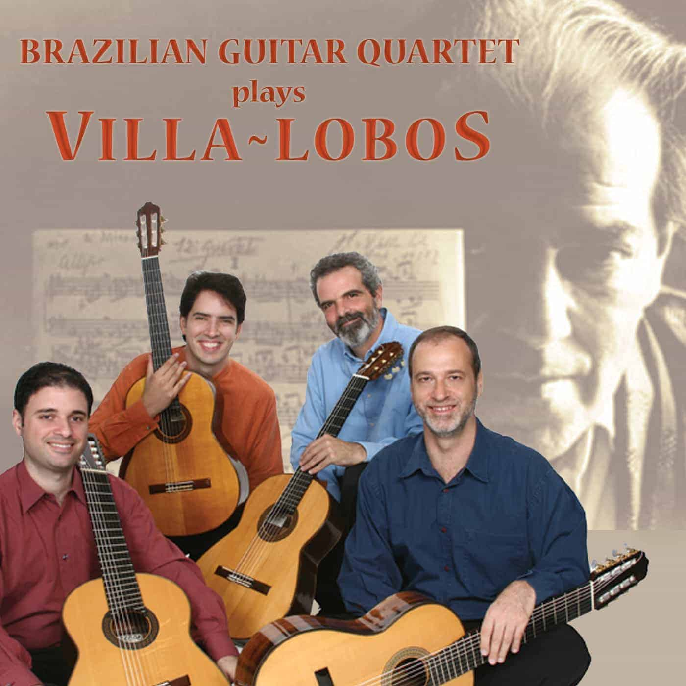 Brazilian Guitar Quartet plays Villa-Lobos