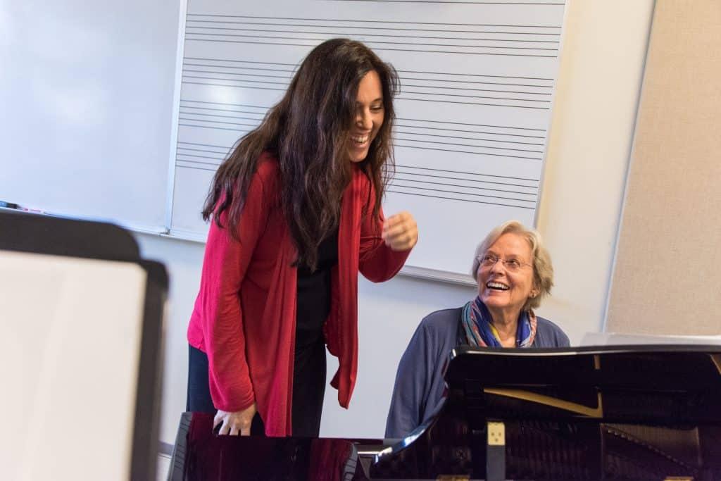 Carol Rosenberger and Janelle DeStefano