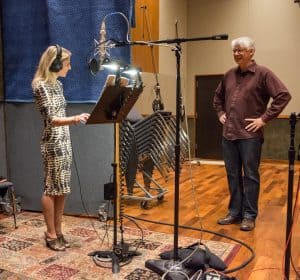 Mark Abel and Hila Plitmann in Time and Distance Recording Sessions