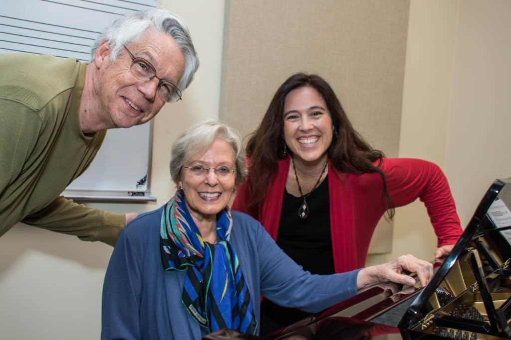 Carol Rosenberger, Janelle DeStefano, Mark Abel