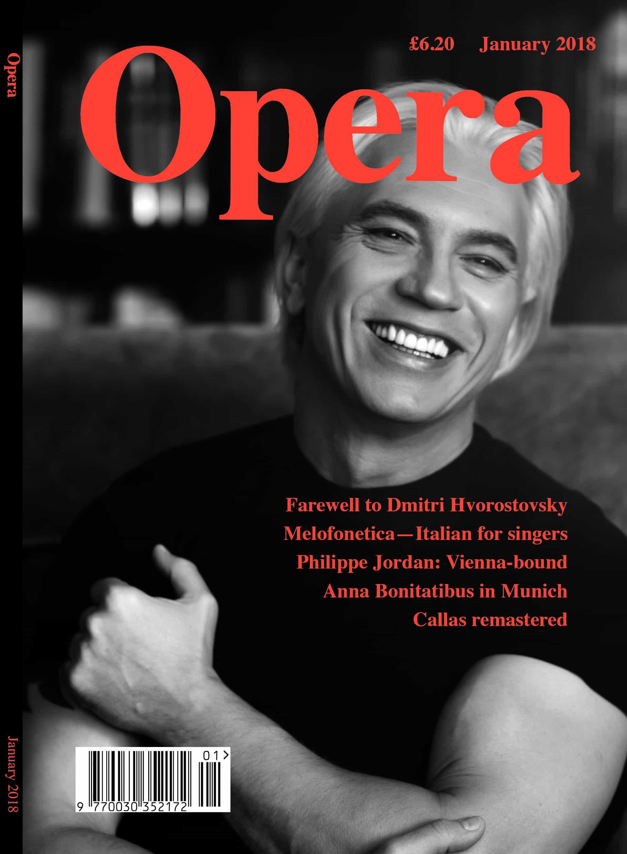 Opera Magazine January 2018
