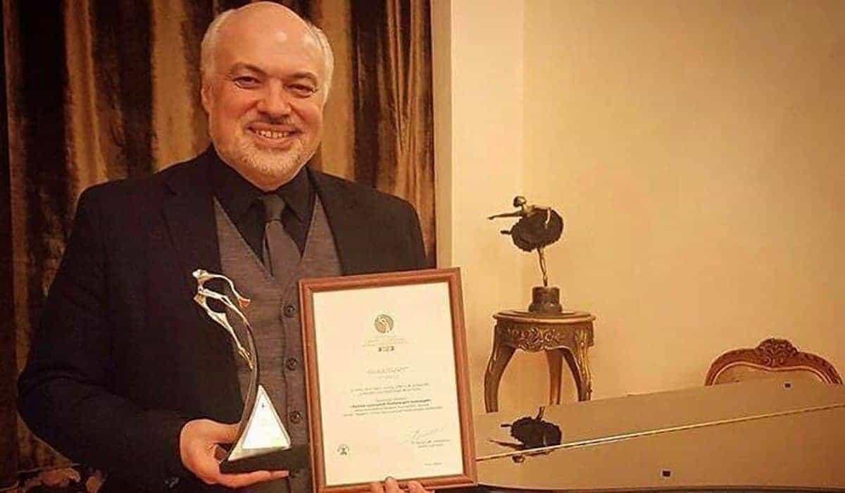 Constantine Orbelian and Yerevan Opera Win Tsitsernak Award