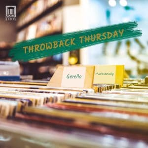 Playlist image - #ThrowbackThursday - featuring a record store-based image