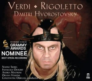 Verdi: Rigoletto - GRAMMY Nomination - Cover art with GRAMMY Nominee Sticker