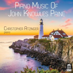 Piano Music of John Knowles Paine Cover Artwork