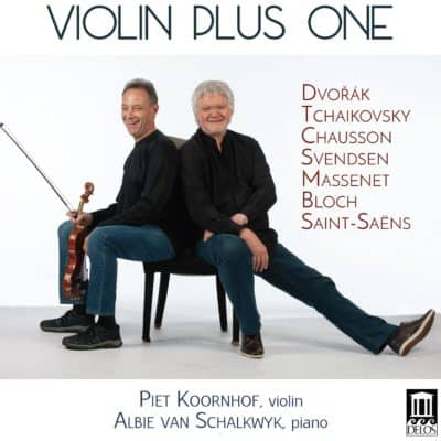 Violin Plus One Cover - Piet Koornhof and Albie van Shalkwyk on front