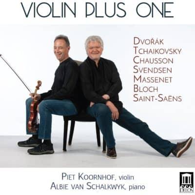 Violin Plus One Cover - Piet Koornhof and Albie van Shalkwyk on front