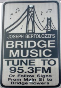 Joseph Bertolozzi Bridge Music Sign