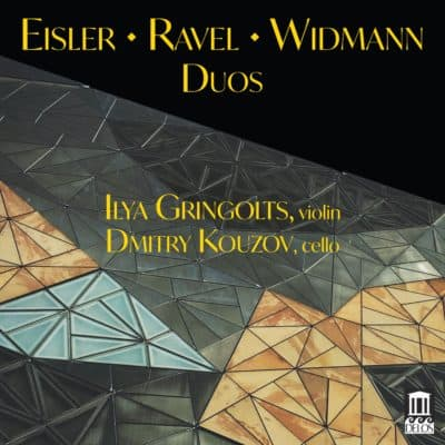 Eisler • Ravel • Widmann Duos Cover Art