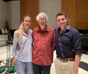Mark Abel, Dominic Cheli, and Sabrina-Vivian Höpcker